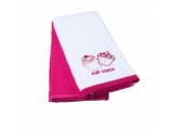 "Set prosoape pu bucatarie""Pink Cake"" ,40*70cm, 2 pcs"