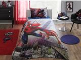 """Set lenjerie pt adolescenti  """"SPIDERMAN ACTION"""", 3 pcs, 160x220 cm."""